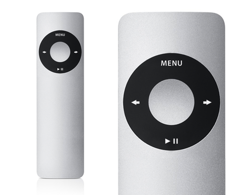 apple remote. although the apple tv\u0027s remote control looks sleek, it leaves a lot to be desired. tiny buttons on awkward-shaped directional pad can make